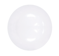 Тарелка круглая БЕЛАЯ 76 мм