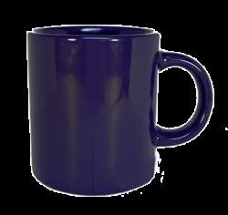 Кружка керам.темно-синяя 300 мл.