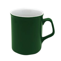 Кружка СПАРТА зелено-белая