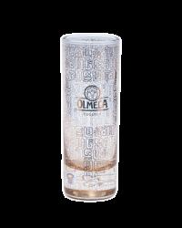 """Стопка стеклянная с одноцветной деколью. Логотип """"Olmeca"""""""