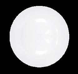 Тарелка декоративная БЕЛАЯ 254 мм